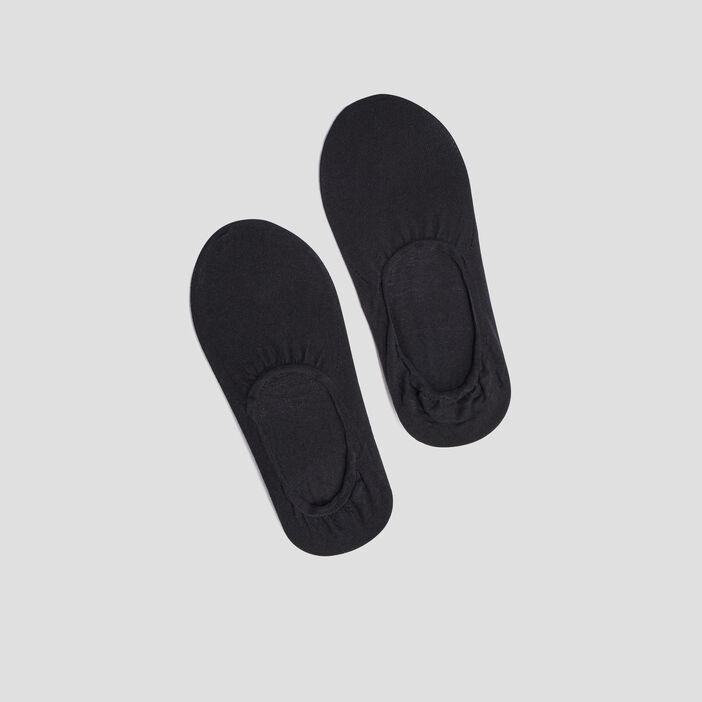 Lot 2 paires protège-pieds DIM femme noir