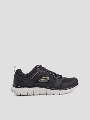 Runnings Skechers TRACK KNOCKHILL noir homme