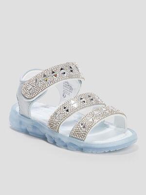 Sandales La Reine des neiges bleu fille