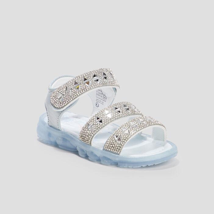 Sandales La Reine des neiges fille bleu