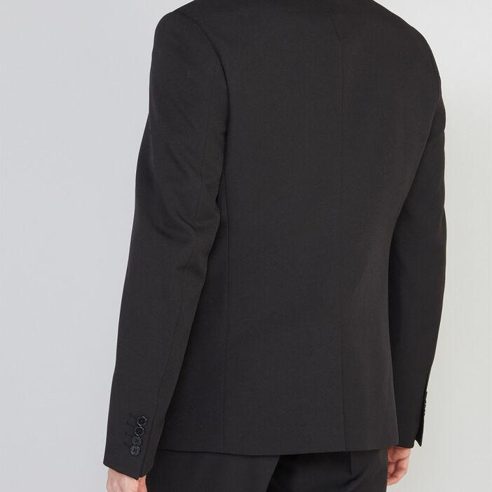Veste droite avec 2 boutons homme noir