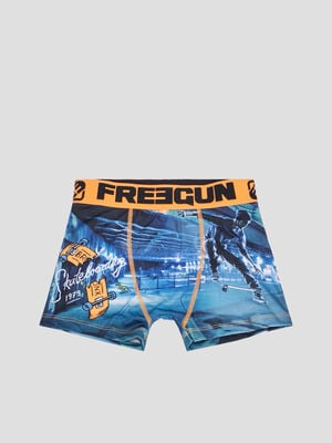 Boxer Freegun orange garcon