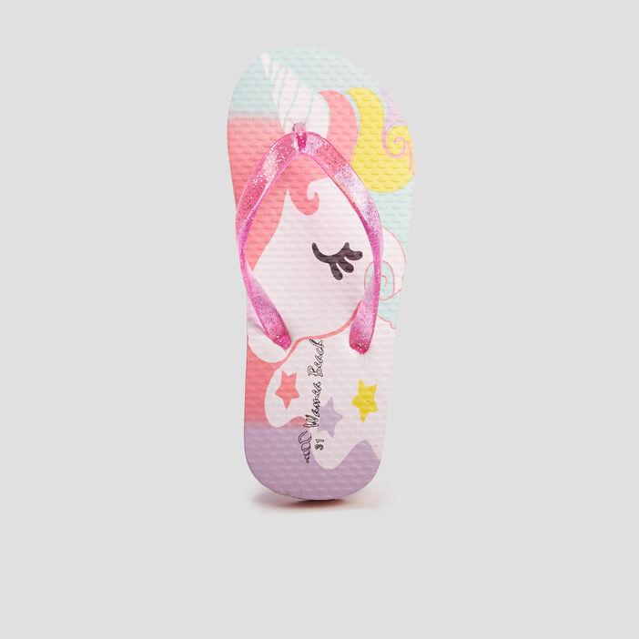 Tongs Wamea Beach fille rose