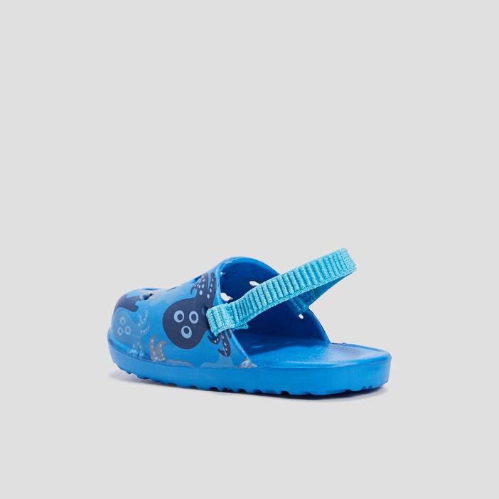 Sabots de plage bébé garçon bleu