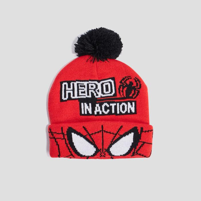 Bonnet Spider-Man garçon multicolore