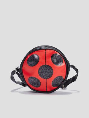 Sac rond Miraculous Ladybug rouge fille