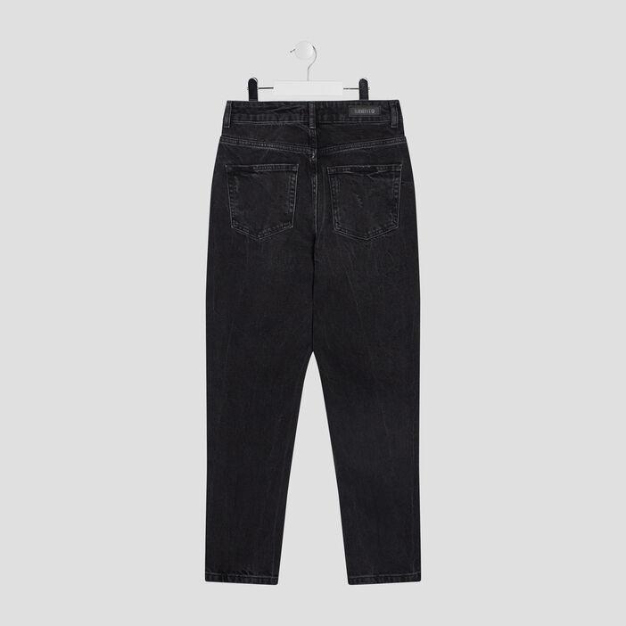 Jeans droit Liberto fille noir