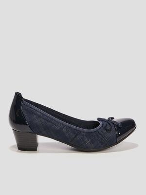 Escarpins bleu femme