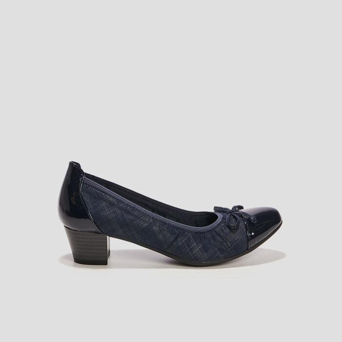 Escarpins femme bleu