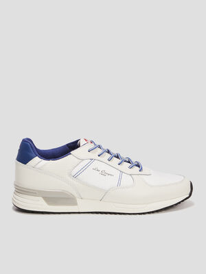 Runnings Lee Cooper lacets fantaisie blanc homme