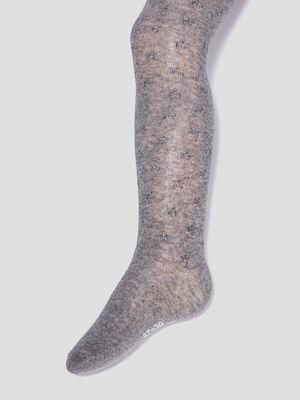 Collants gris fille