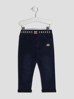 Jeans droit Creeks denim brut bebeg
