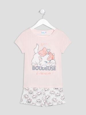 Pyjama Les Aristochats rose fille