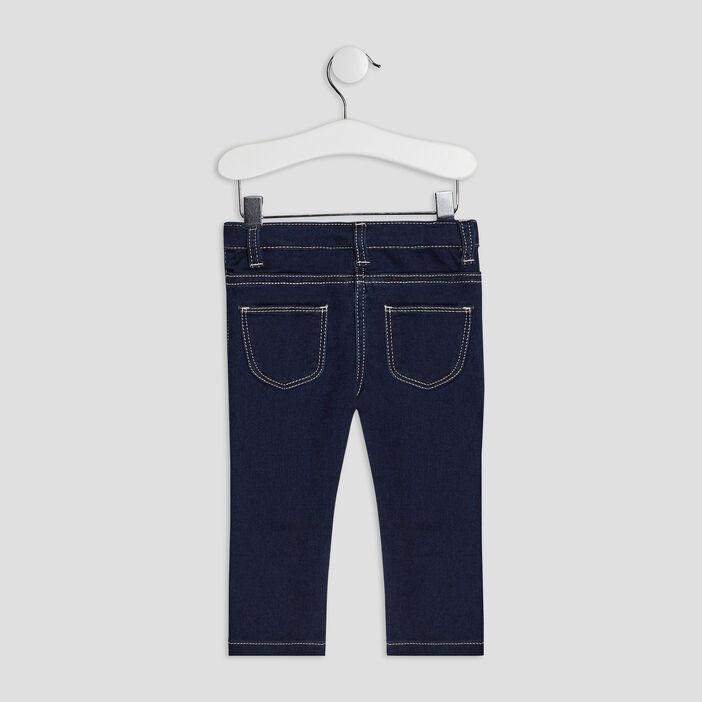 Jeans slim bébé fille denim brut