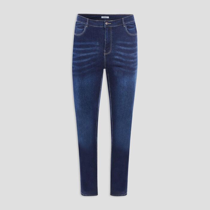 Jeans regular grande taille femme grande taille denim brut