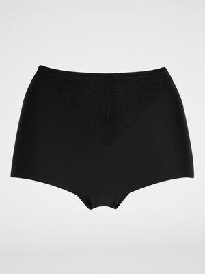 Culotte ventre plat dentelle noir femme