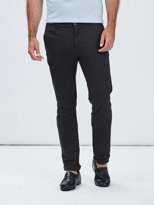 Pantalon regular gris fonce homme