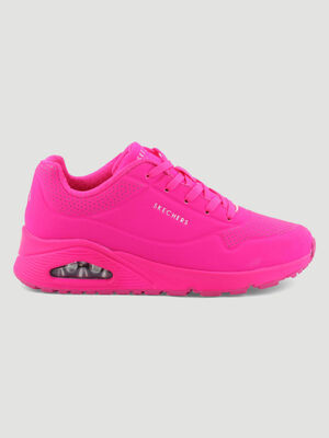 Runnings Skechers UNO NIGNT SHADES rose femme