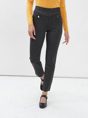 Pantalon ajuste 78eme multicolore femme