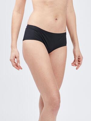 Culotte boxer microfibre noir femme