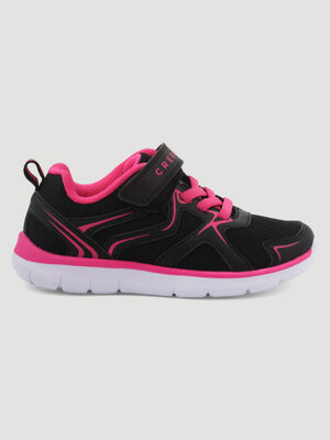Baskets running Creeks noir fille