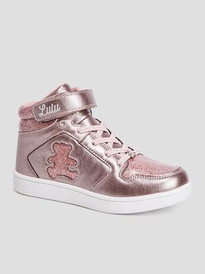 Baskets LuluCastagnette rose fille
