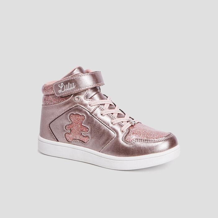 Baskets LuluCastagnette fille rose