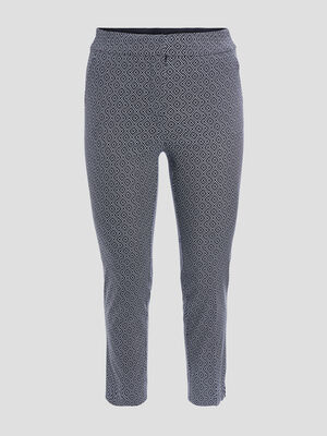 Pantalon ajuste 78eme noir femmegt