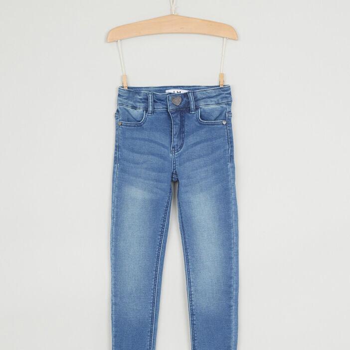 Jean skinny coton majoritaire fille denim double stone