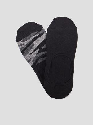 Socquettes protege pied noir