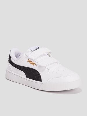 Tennis Puma blanc garcon