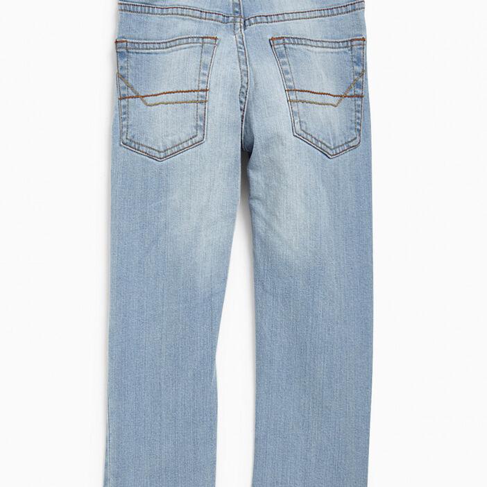 Jeans slim garçon denim double stone