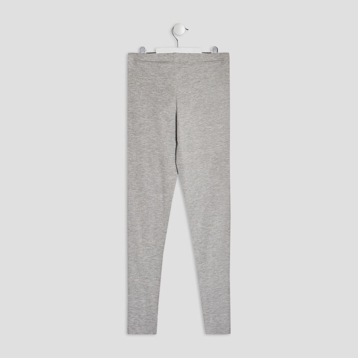 Leggings fille gris