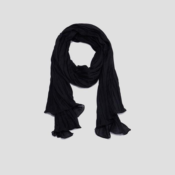 Foulard femme noir