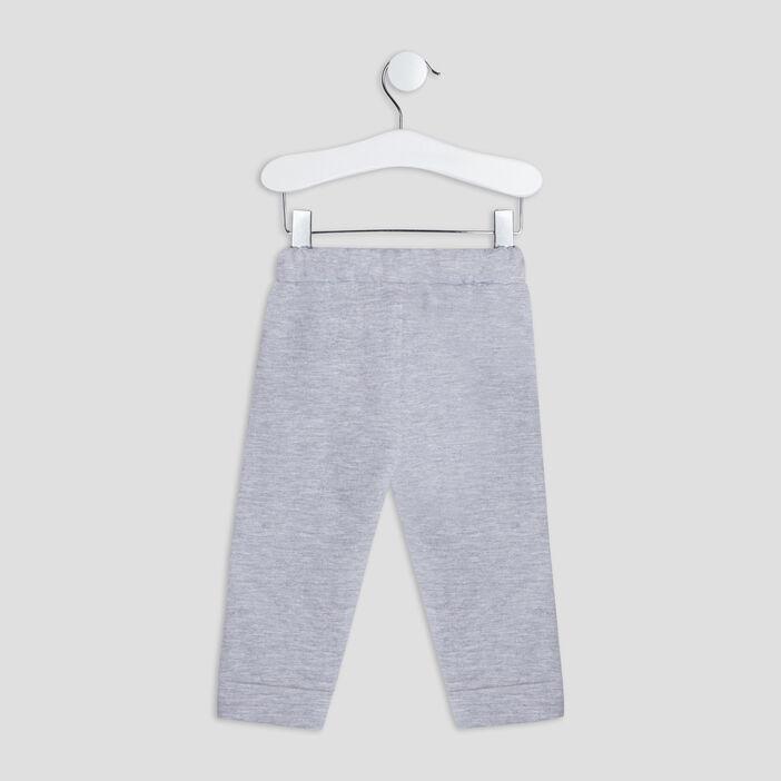 Pantalon jogging bébé garçon gris