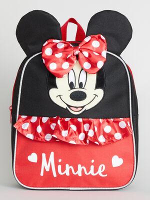 Sac a dos 3D Minnie noir fille