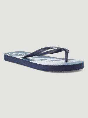 Tongs avec motifs surf bleu garcon