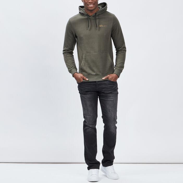 Jeans straight homme noir