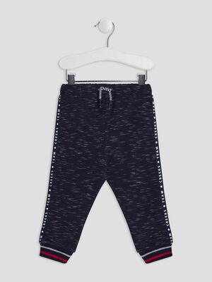 Pantalon jogging bleu marine bebeg