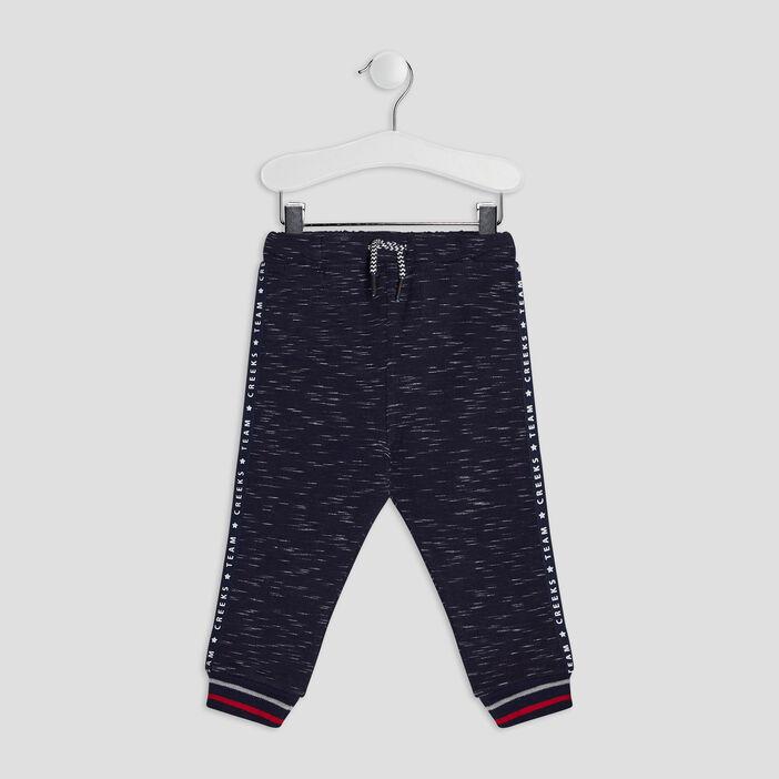 Pantalon jogging bébé garçon bleu marine
