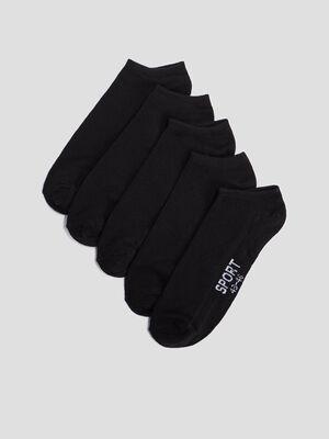 Chaussettes de sport noir homme