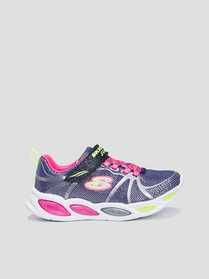 Baskets running Sketchers multicolore fille