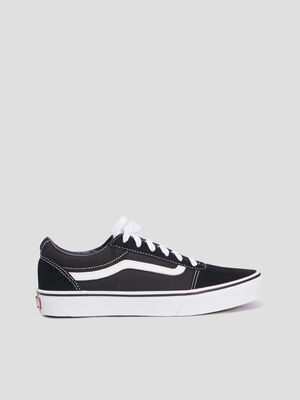 Baskets tennis Vans noir garcon