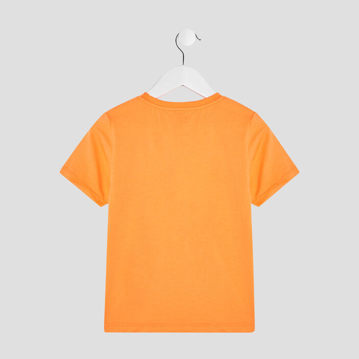 T-shirt Liberto garçon orange fluo