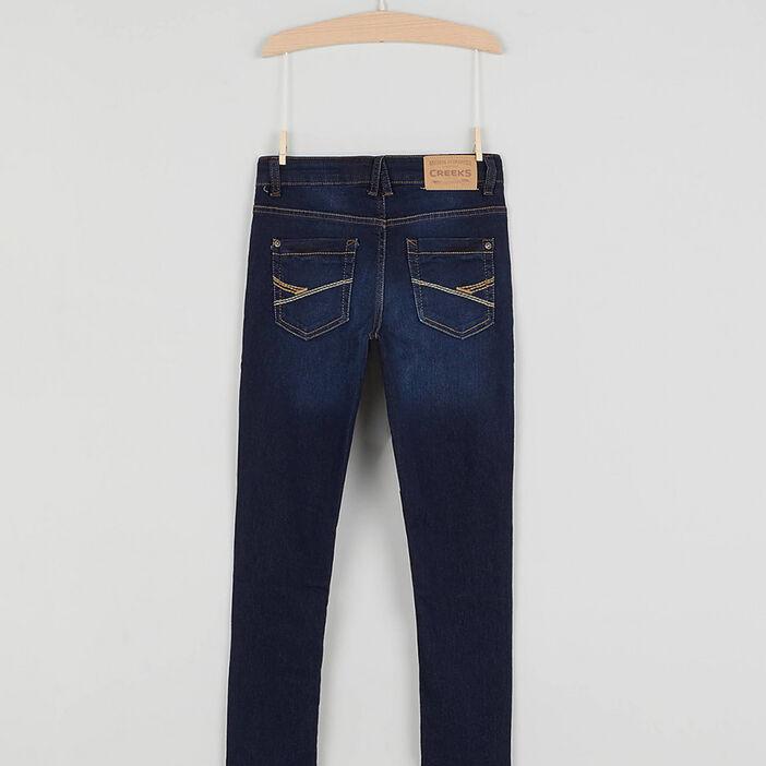 Jeans skinny Creeks garçon denim brut