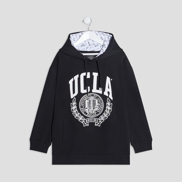 Sweat à capuche UCLA fille noir