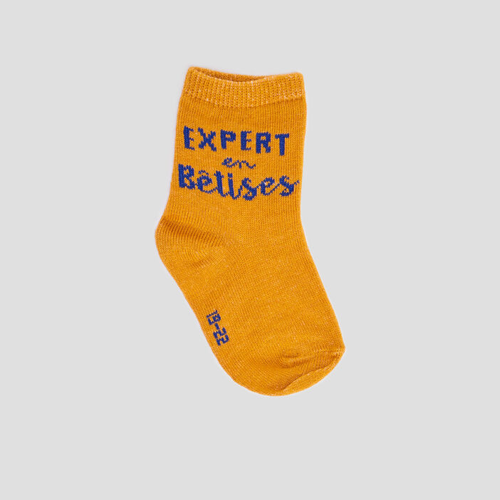 Lot 5 paires de chaussettes bébé garçon gris