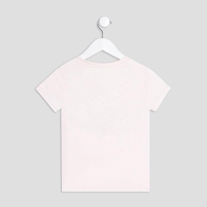 T-shirt Harry Potter fille rose