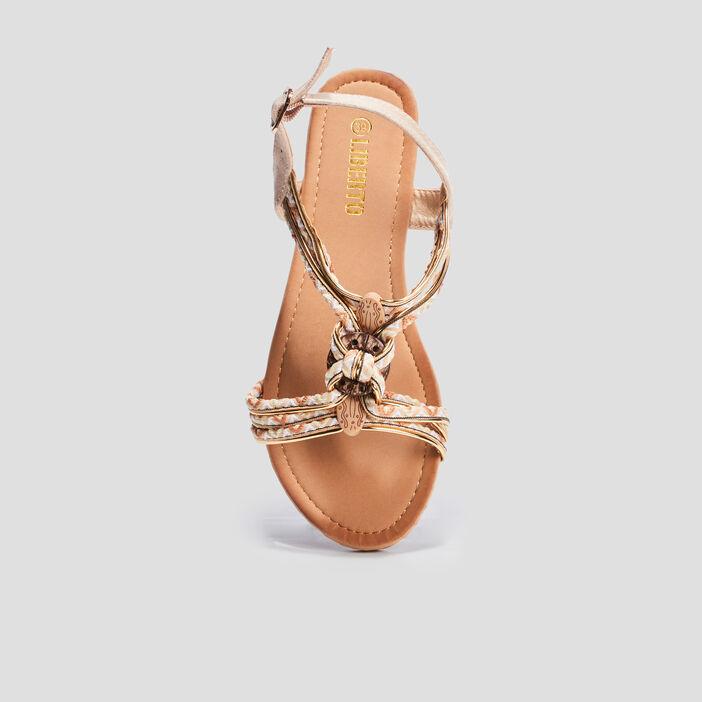 Sandales avec bijoux Liberto femme beige