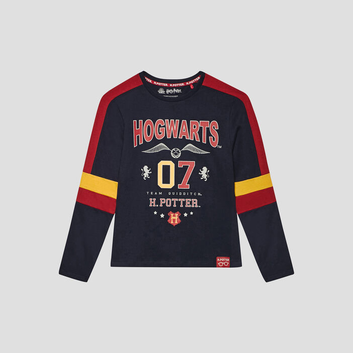 T-shirt Harry Potter garçon bleu marine